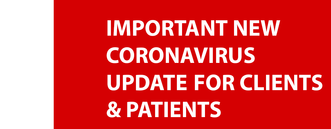 Important Coronavirus Update